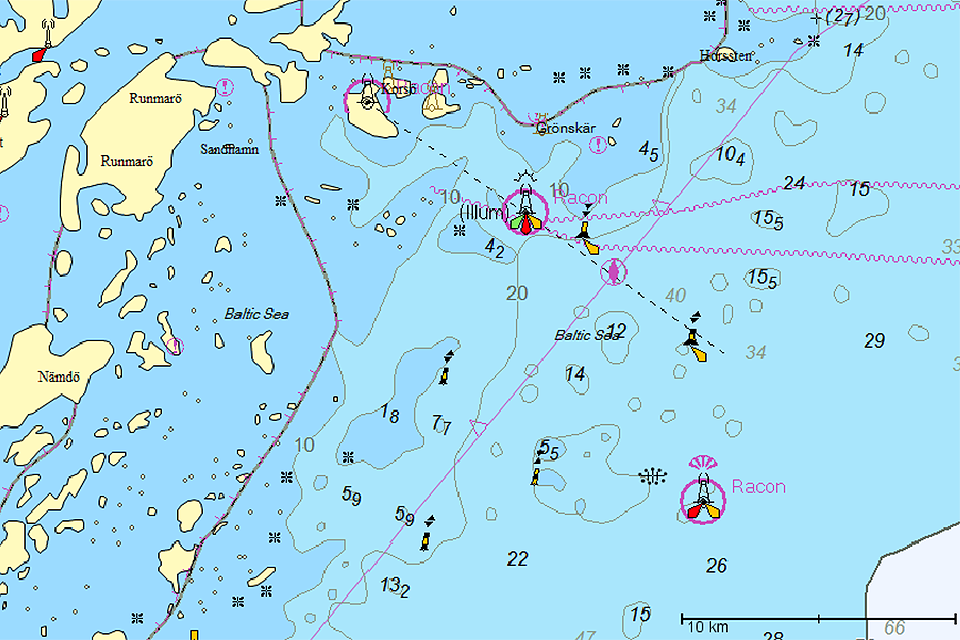 Ocean Modules SPOT.ON Jeppesen C-MAP Digital Charts