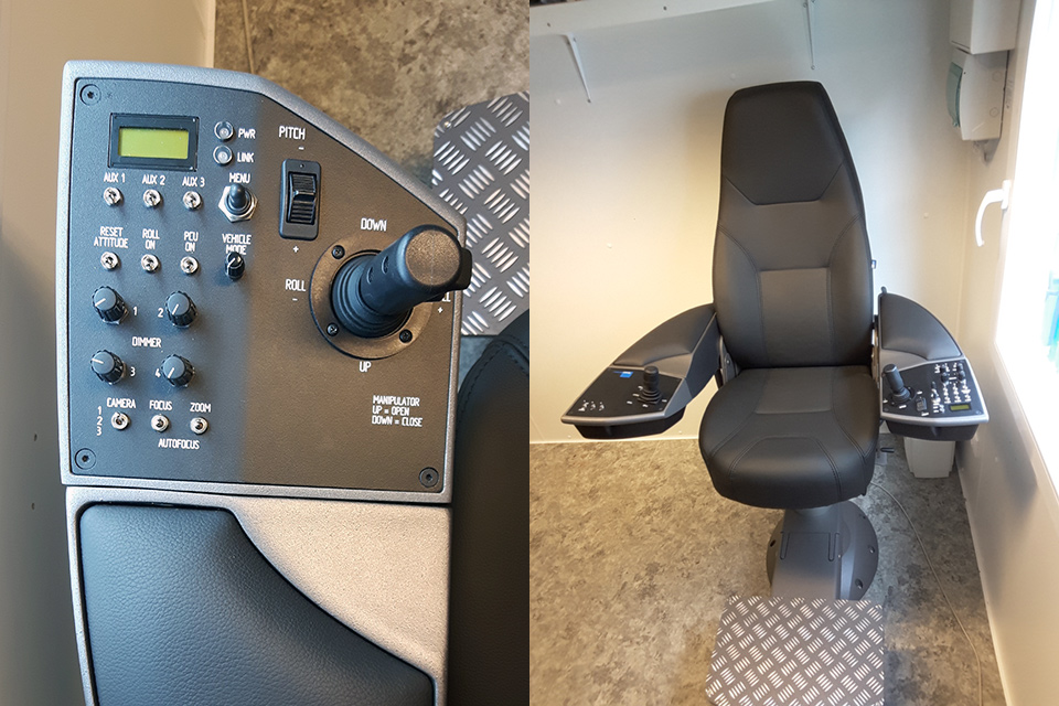 Pilot Chair for V8 M500/L3000